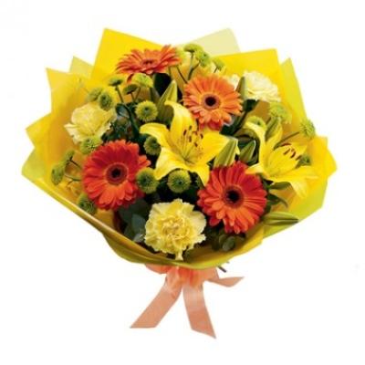 Bouquet Flores para Entrega